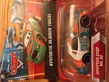 Disney Pixar Cars DIECAST w/ RUBBER TYRES - #92 SPUTTER STOP Mint in Box