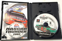 NASCAR Thunder 2002 (Sony PlayStation 2) - PS2 - Complete w/ Manual
