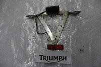 Triumph Daytona 955i T595 Kennzeichenhalter Halter Kennzeichen Heck Träger#R3720