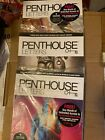 PENTHOUSE LETTERS-LOT OF 3 DIFFERENT FACTORY SEALED ISSUES-$20.00 FREE SHIPPING