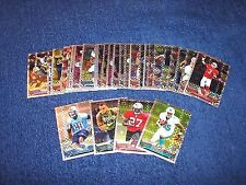 2013 TOPPS CHROME FOOTBALL LOT OF 29 XFRACTORS WITH ROOKIES (R417-2)