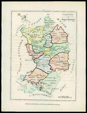 Map Of Co Meath Ireland.Ireland Meath Antique Original Antique Europe Maps Atlases For