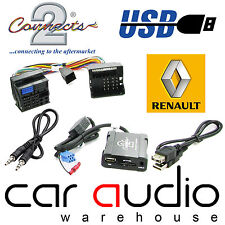 Connects2 CTARNUSB005 Renault Laguna 2008 Onward USB SD AUX IN Interface Adaptor