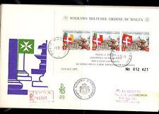 FDC SMOM Natale 1975 bf