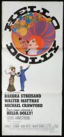 HELLO DOLLY Original Daybill Movie Poster Barbra Streisand Walter Matthau Amsel