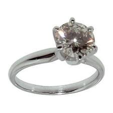 Platinum Solitaire Fine Rings