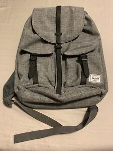 Herschel Laptop Drawstring Backpack 2 Front Pockets & Interior Pocket For Laptop