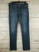 American Eagle Outfitters Women's Blue Jeans Size 6 Skinny Stretch