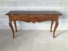 ETHAN ALLEN COUNTRY FRENCH 3 DRAWER CONSOLE (26-9201) (216)