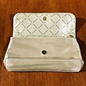 RETRO BVLGARI Mini Handbag Satin & Cream gold accent trims! Excellent Condition!