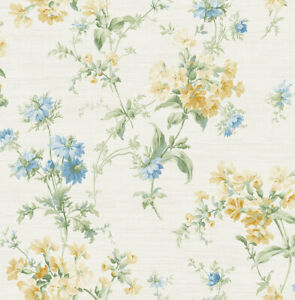 "Wallpaper Floral Wildflower Traditional Wall Decor -20.5"" x 396"" Roll (56 sq ft)"
