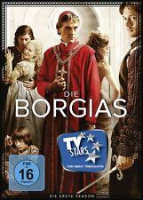 THE BORGIAS SEASON 1  3 DVD NEU JEREMY IRONS/FRANCOIS ARNAUD/+