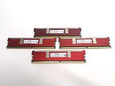 Lot of 4 Netlist 2GB 2Rx4 PC2-3200R-333-J0 RAM
