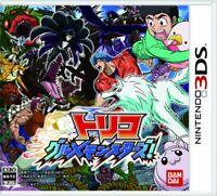 USED Nintendo 3DS Toriko Gourmet Monsters 95160 JAPAN IMPORT