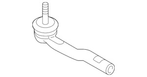 Genuine Toyota Outer Tie Rod 45047-WB002