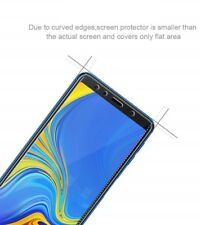 for Samsung Galaxy A7 2018 Phone Clear Tempered Glass Screen Protector Guard
