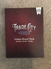 Disney Trade City USA Visitor Travel Book & Two Road Sign Pins