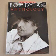 song book BOB DYLAN Anthology, TAB