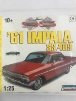 Lindberg 1961 Chevy Impala Hardtop SS 409 Plastic Model Kit  1/25 New in Box
