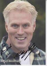 Norbert Heisterkamp  TV  Autogrammkarte original signiert 373505