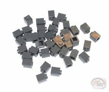 Black LEGO 2357, Plate, Tile 3-Buck Bag 15-pcs 2x2 Corner Brick New -