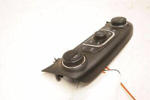 Black Manual Temp Control VIN 1 23113223 Fits 14-18 Chevrolet Impala OEM