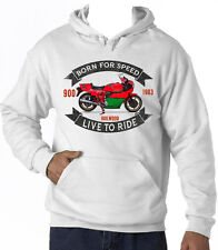 DUCATI 900 MIKE HAILWOOD - NEW AMAZING GRAPHIC HOODIE S-M-L-XL-XXL