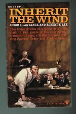 Inherit The Wind by Jerome Lawrence & Robert E. Lee 1960 Paperback 1st Printing