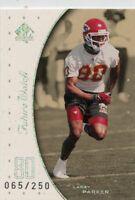 LARRY PARKER 1999 Upper Deck SP Authentic Future Watch Rookie #D /250