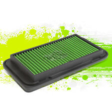 WASHABLE DROP IN PANEL PERFORMANCE AIR FILTER GREEN FOR COROLLA/MATRIX/LOTUS/TC
