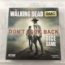 The Walking Dead Don't Look Back Dice Board Game Cryptozoic 1-4 Players Amc