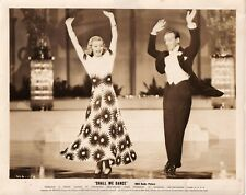 FRED ASTAIRE & GINGER ROGERS original sepia film still SHALL WE DANCE