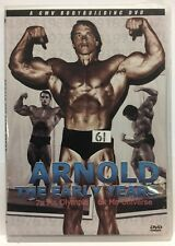 ARNOLD SCHWARZENEGGER EARLY YEARS DVD - Young Arnie RARE! 7x Mr Olympia 6x Mr U