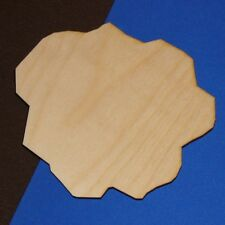 Meteorite Unfinished Wood Shape Cut Out M1066 Crafts Lindahl Woodcrafts