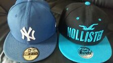 NY & HOLLISTER New Era Caps 59Fifty Size 7 1/2 59.6cm