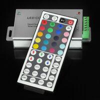 HOT 12V-24V DC 20A 240W 44Key IR Remote Controller For 5050 3528 RGB LED Strip