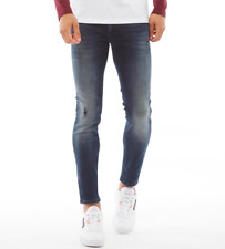 JACK AND JONES Mens Liam (JJ 104 50SPS) Skinny Fit Jeans Blue W31 L30