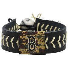 Gamewear 4421400038 Boston Red Sox Camouflage Baseball Bracelet