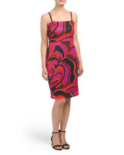 TRINA BY TRINA TURK Floral Midi Dress/Red Multi/Size 8/NWT