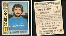 Figurina Calciatori Panini 1981-82! N.78 Zaninelli (Catanzaro)! Nuova!! ▓