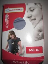 Maman Kangourou Asiatik Mei Tai Soft Baby Carriers, Blueberry