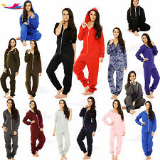 Womens Onsie1 jumpsuit one piece Pyjama Sleepwear hoodie track suite size S-3XL