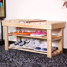 Bancos de madera maciza para el hogar