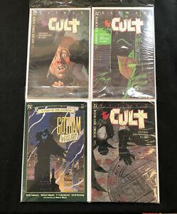 BATMAN 4PC LOT (VF/NM) GRAPHIC NOVELS, MIGNOLA/WRIGHTSON!! 1988
