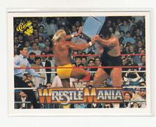 1990 Classic WWF History of Wrestlemania #34 Hulk Hogan DONALD TRUMP cameo