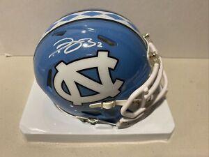 Dyami Brown Signed North Carolina Tar Heels Speed Mini Helmet JSA