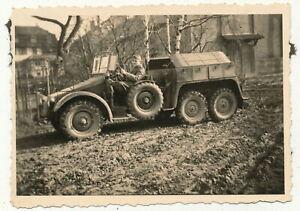 Foto - Deutscher LKW 3-Achser - 2.WK