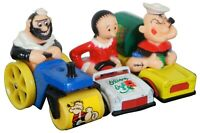 3 1980 Matchbox Lesney Character Series Popeye Bluto Olive Oyl Die Cast Toy Cars