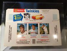 1975 HOSTESS Twinkies COMPLETE BOX #142/143/144 FISK ROBINSON NM/MT to MINT