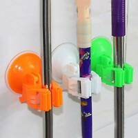 Kitchen Storage Tool Position Wall Mounted Organizer Mop and Broom Holders Racks